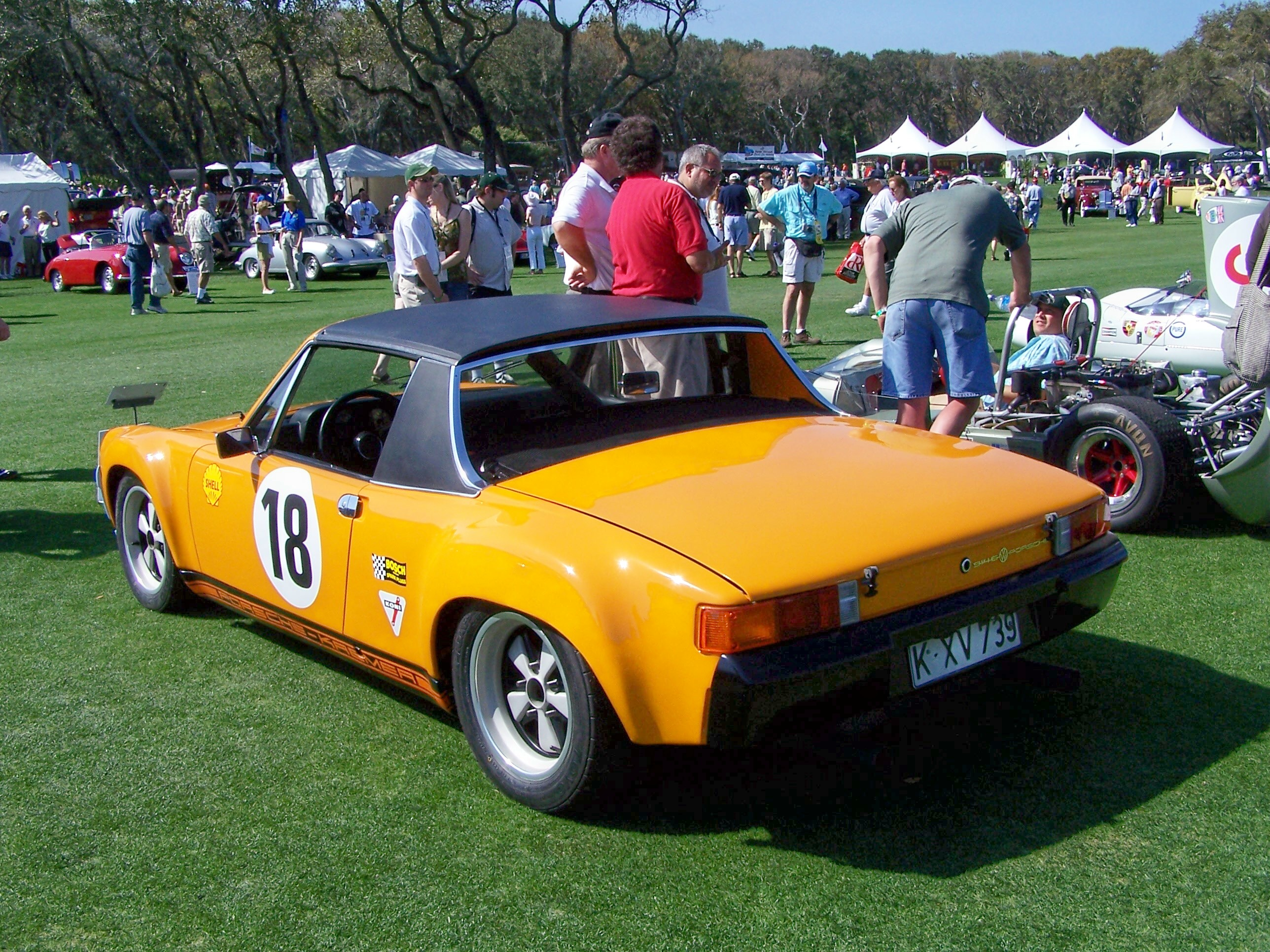 1970 porsche 914 6 gt at amelia island concours. Black Bedroom Furniture Sets. Home Design Ideas