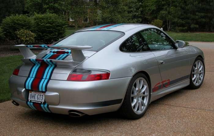 Porsche 996 Gt3 With Martini Racing Stripes Porschebahn