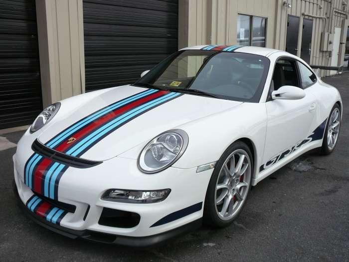 Porsche GT3 RS with Martini Racing Stripes | Porschebahn Weblog