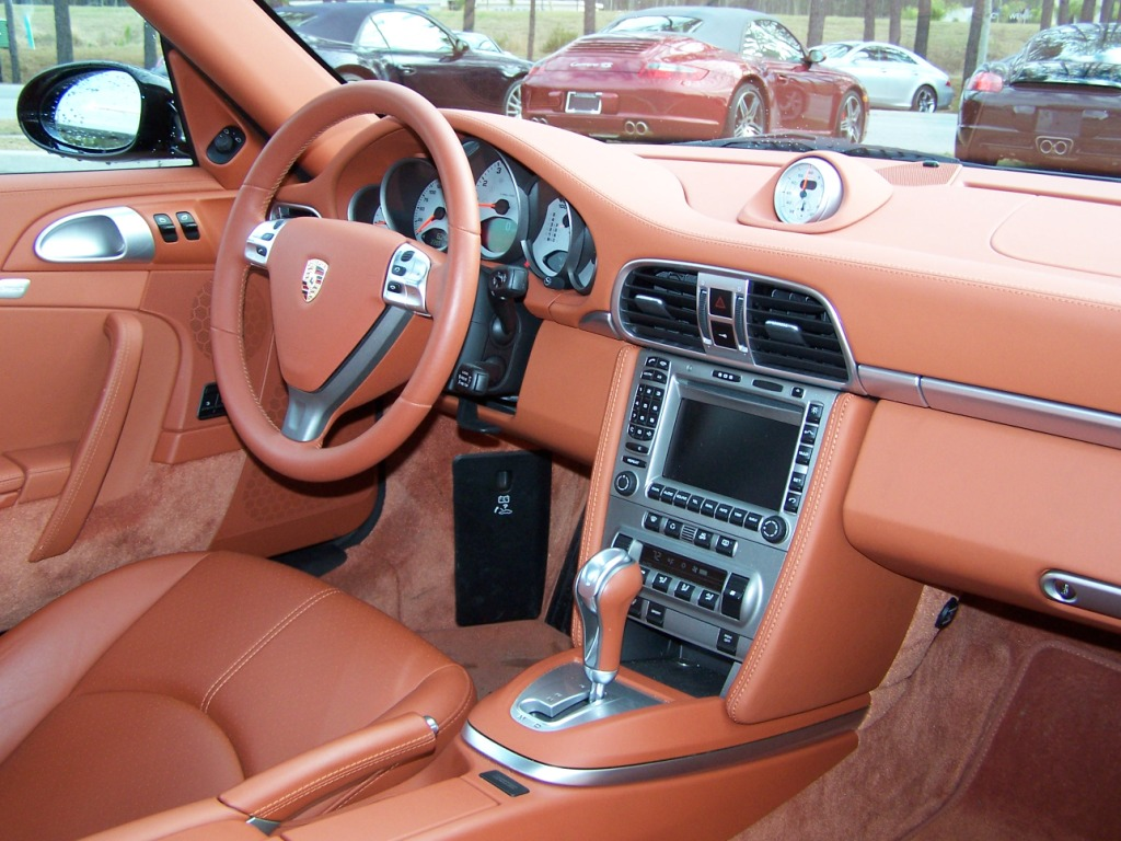 2008 Porsche Carrera 4s With Terracotta Interior