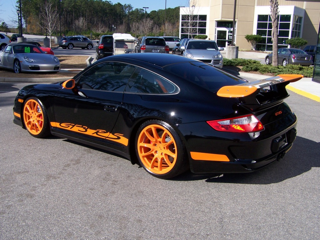 Car Paint Job Cost >> 2007 Black & Orange Porsche GT3 RS | Porschebahn Weblog