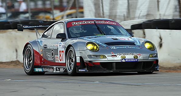 dirk werner captures gt2 pole in farnbacher loles racing. Black Bedroom Furniture Sets. Home Design Ideas