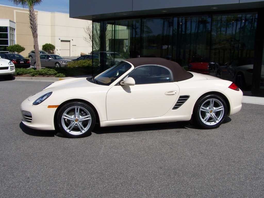 2009 porsche boxster in cream white with sand beige interior porschebahn weblog. Black Bedroom Furniture Sets. Home Design Ideas