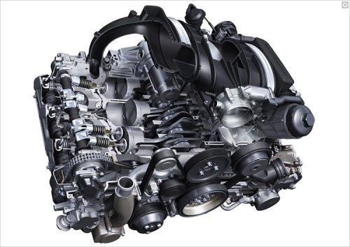 porsche 3.8 liter engine