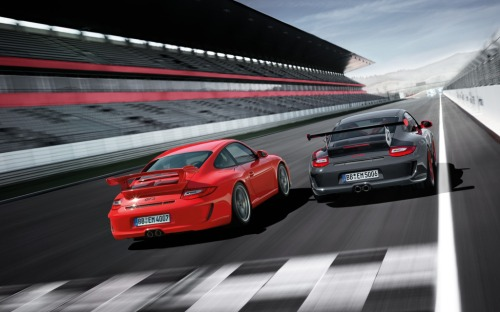 2010 gt3 rs and gt3