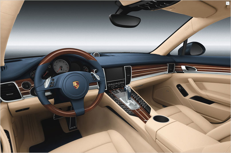 Wide range of customisation options for the porsche panamera a panamera 1 publicscrutiny Choice Image