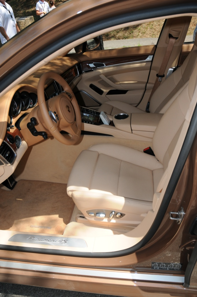 2010 porsche panamera 4s in cognac with luxor beige and cream interior porschebahn weblog. Black Bedroom Furniture Sets. Home Design Ideas