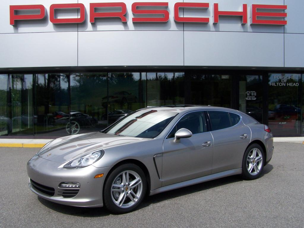 2010 Porsche Panamera S In Platinum Silver With Black Interior
