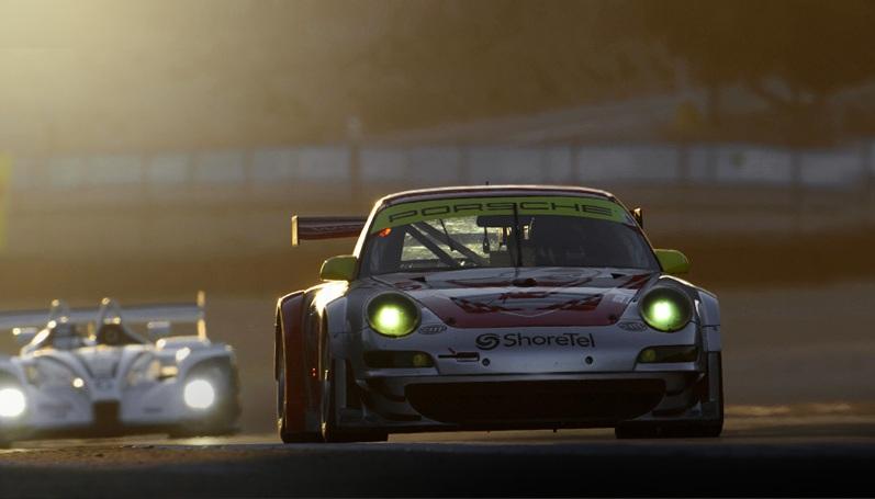 Porsche Earns 100th ALMS Win Lizards Clinch GT2 Title