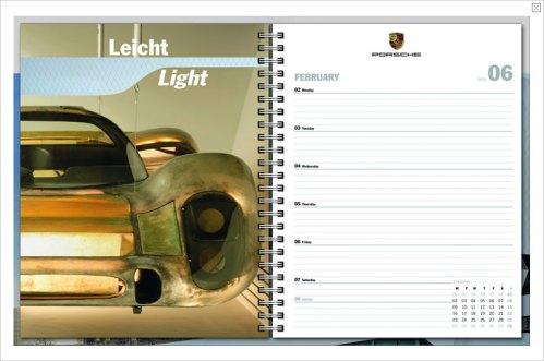 Porsche day planner