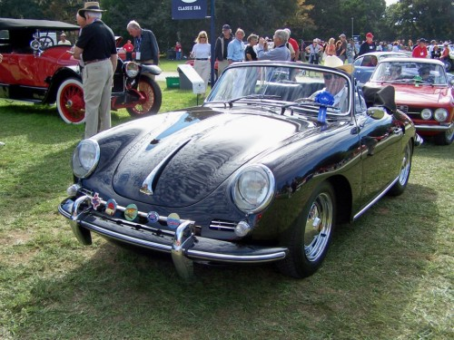 1963 porsche 356 super 90 cabrio george word