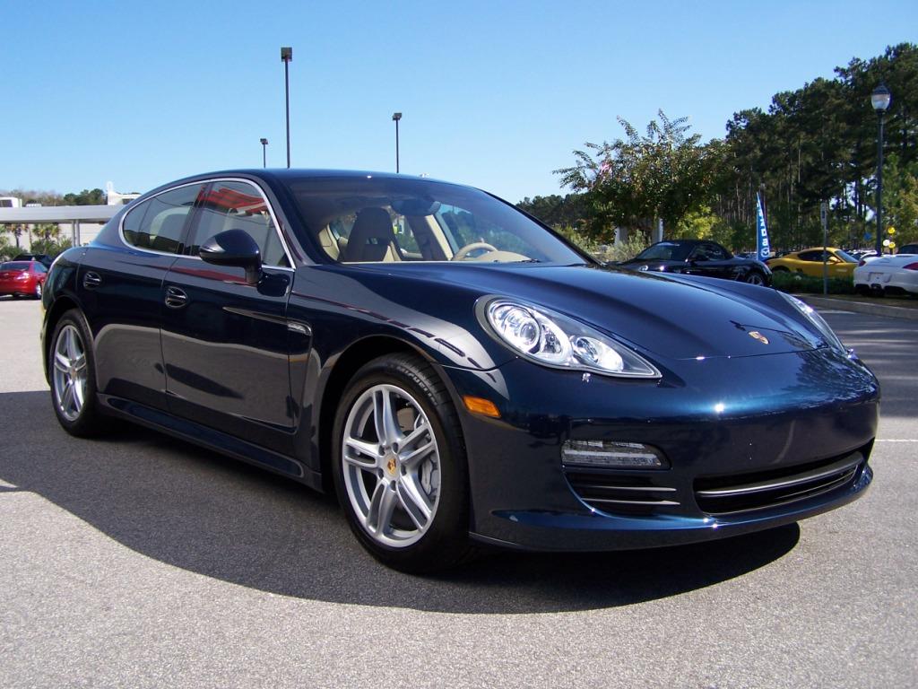 2010 Porsche Panamera S In Dark Blue Metalic With Luxor