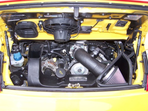 engine 2002 porsche carrera 4s coupe speed yellow