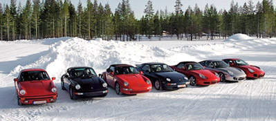 Porsche Approves Winter Tyres Specifically for Young and Old Classics