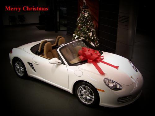 porsche merry christmas