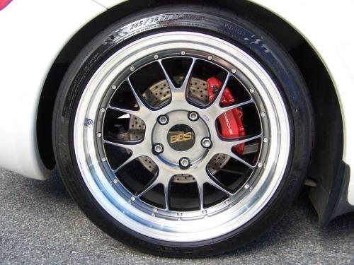 2006 porsche cayman s BBS wheels