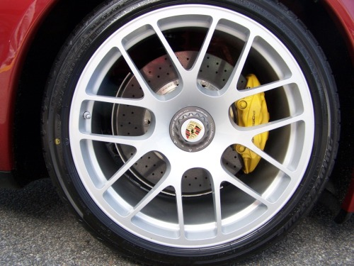 Porsche RS Spyder Center Lock Wheels