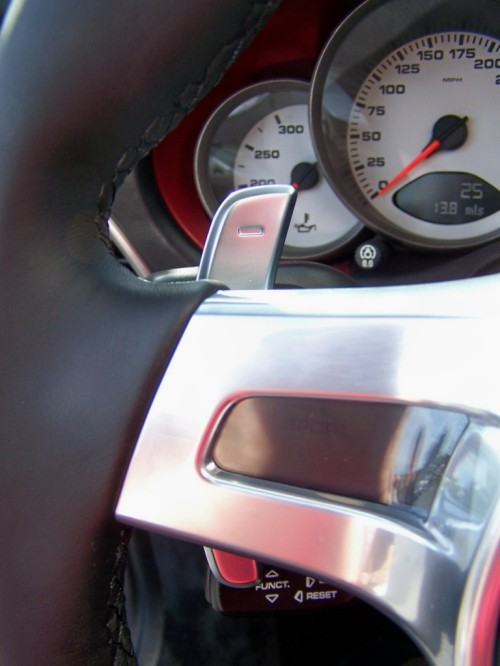 Porsche PDK Paddle Shifter