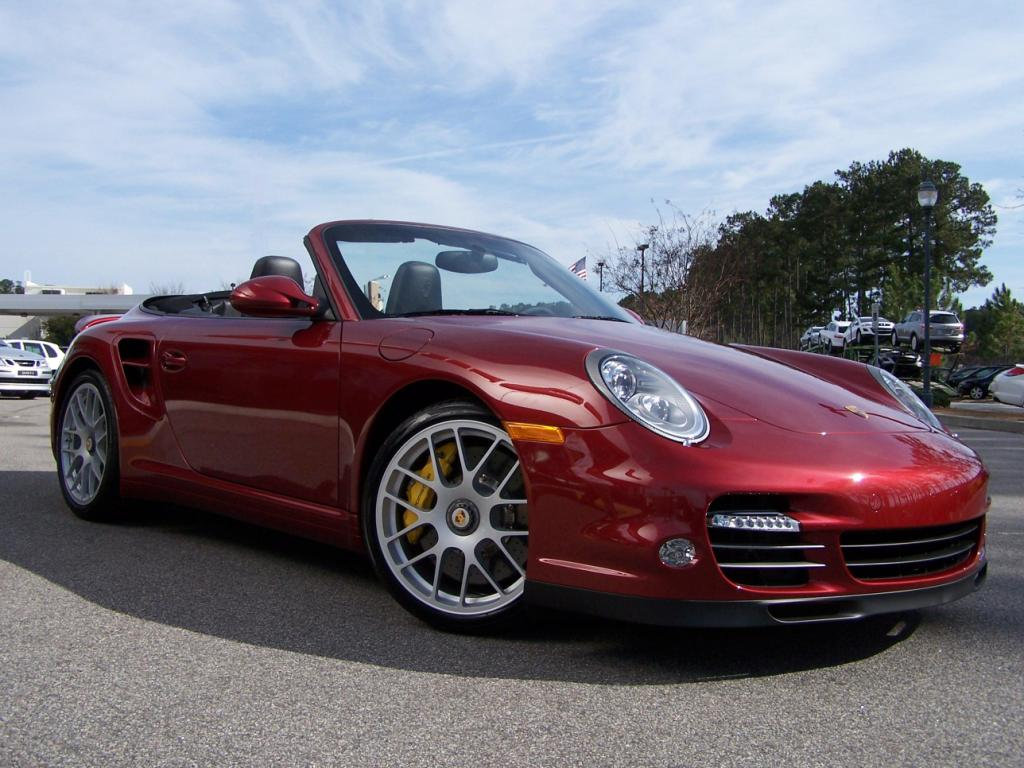 2010 porsche 911 turbo cab in ruby red with pdk and paddle shifter porschebahn weblog. Black Bedroom Furniture Sets. Home Design Ideas
