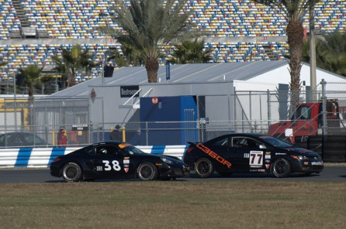 bgb motorsports cayman at daytona