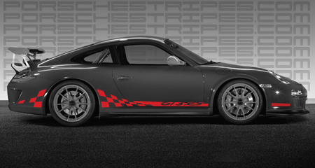 2010 Porsche GT3 RS Stripes available for other model