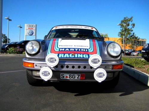 MARTINI RALLY CAR
