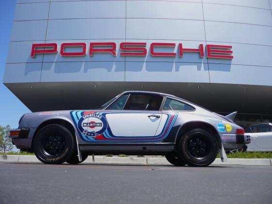 Martini Racing Rally Tribute Porsche 911 For Sale Porschebahn Weblog