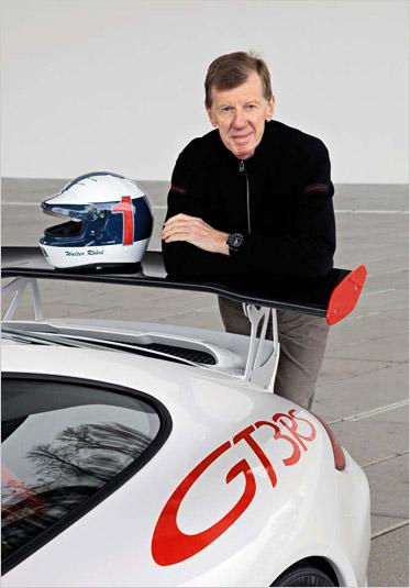 walter rahrl and porsche gt3 rs