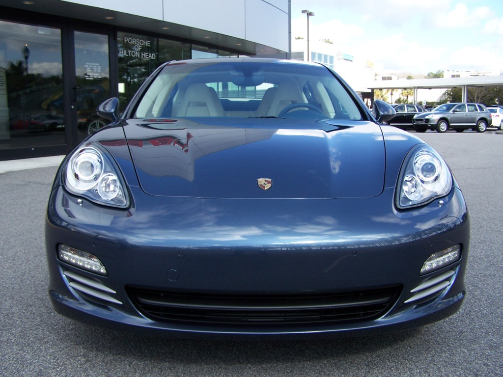 Bose Car Radio For Sale - 2010 Porsche Panamera 4S in Yachting Blue with Two-Tone ...