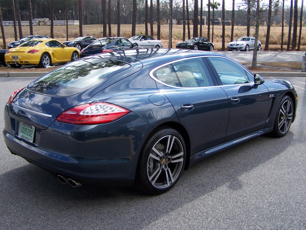 porsche panamera yachting blue image collections
