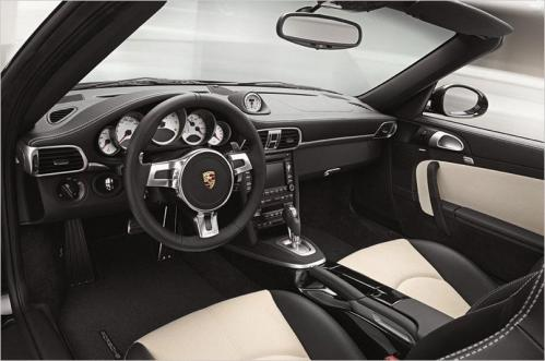 2011 PORSCHE TURBO S INTERIOR
