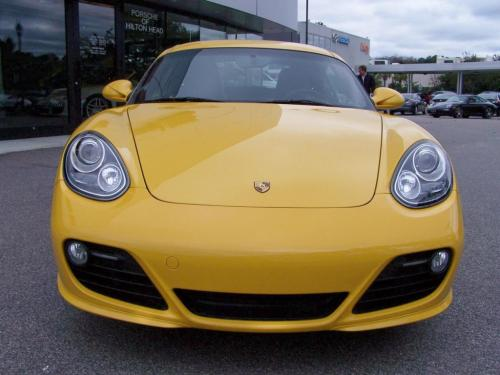 2010 Porsche Cayman Speed Yellow