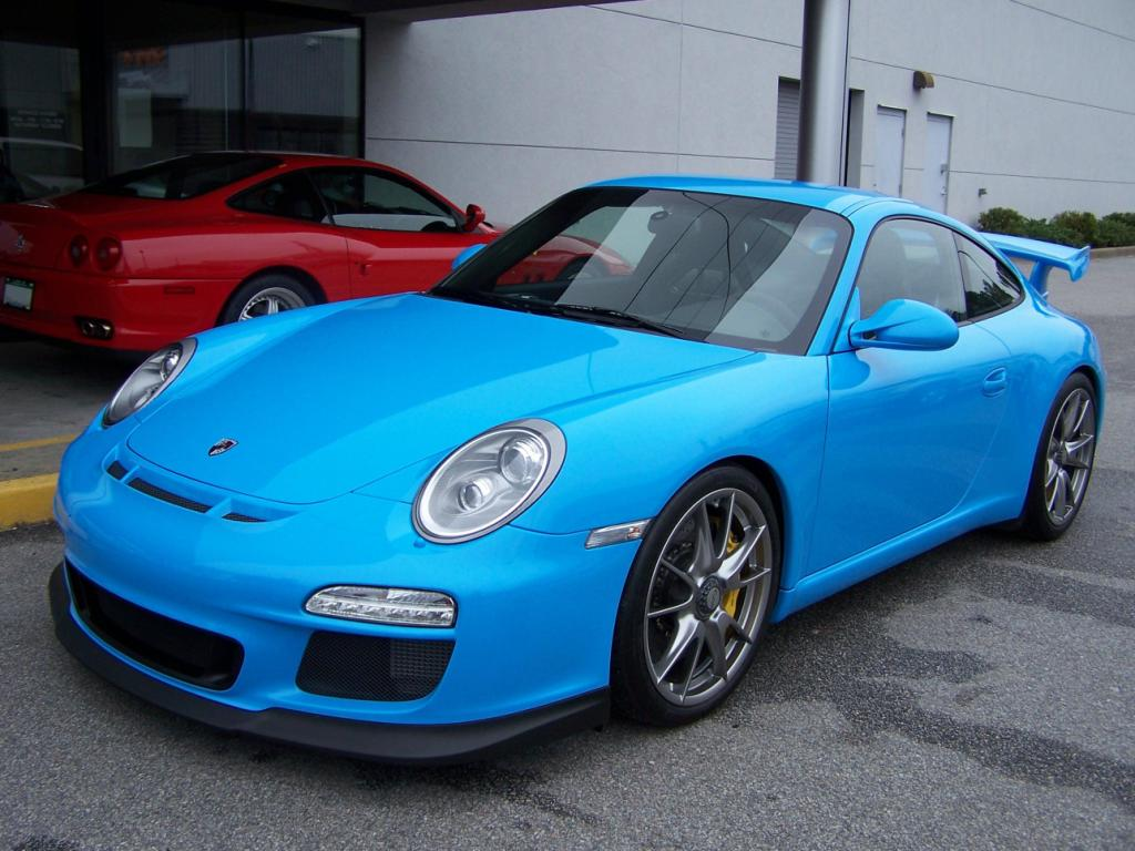 2010 porsche gt3 in riviera blue porschebahn weblog. Black Bedroom Furniture Sets. Home Design Ideas