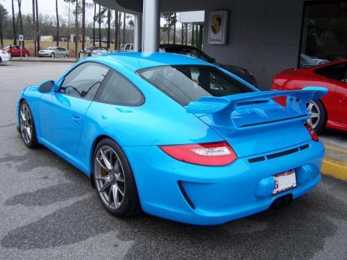 2010 Porsche GT 3 Riviera Blue