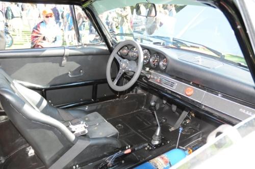 Bruce Jennings 1969 Porsche 911S interior