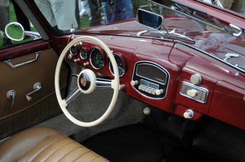 1955 Porsche 356 Continental Cabriolet