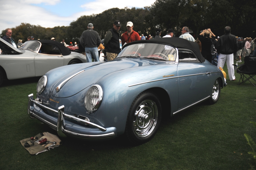 1957 Porsche 356 Speedster At The 2010 Amelia Island