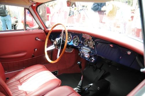 1964 Porsche 356 SC Cabriolet interior