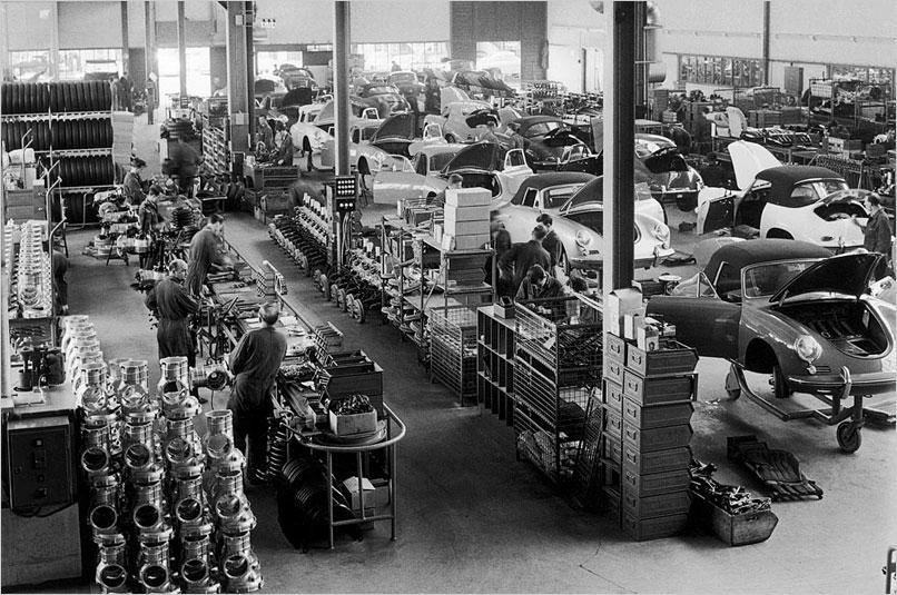 Sixty Years Of Porsche Production In Stuttgart Zuffenhausen Porschebahn Weblog