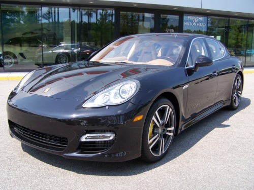 2010 Porsche Panamera Turbo Basalt Black