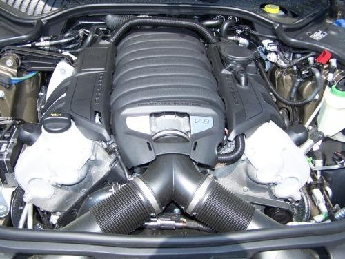 2010 Porsche Panamera S engine
