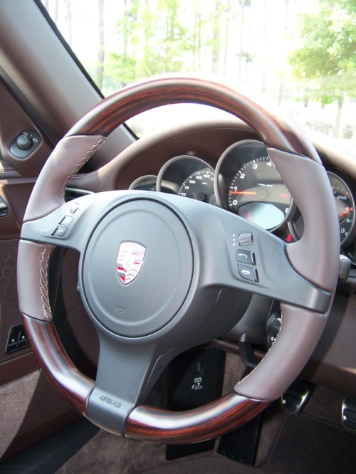 Porsche Macasser Wood Steering Wheels