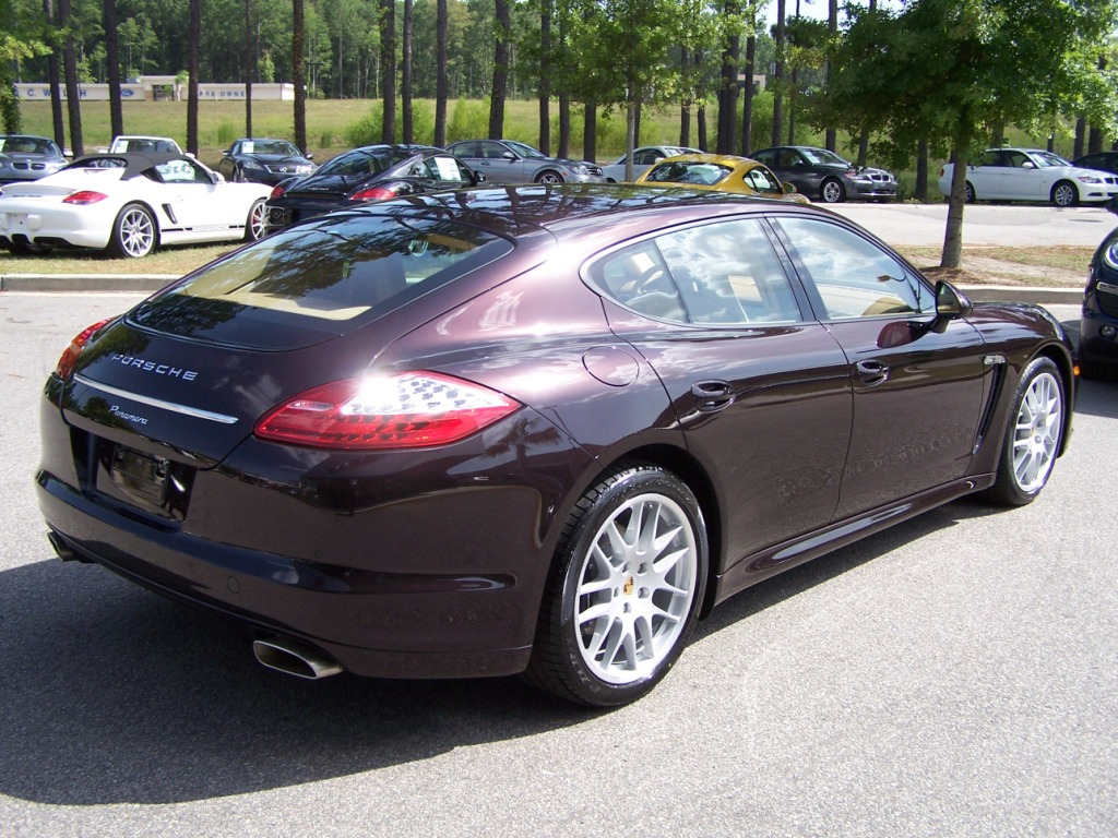 2011 Porsche Panamera In Amethyst Metallic With Cognac And