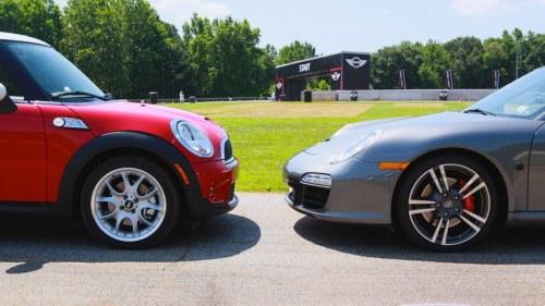 Mini vs Porsche Challenge