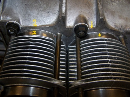 1963 Porsche 356 SC engine rebuild