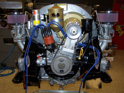 Porsche 356 SC Engine Pictures