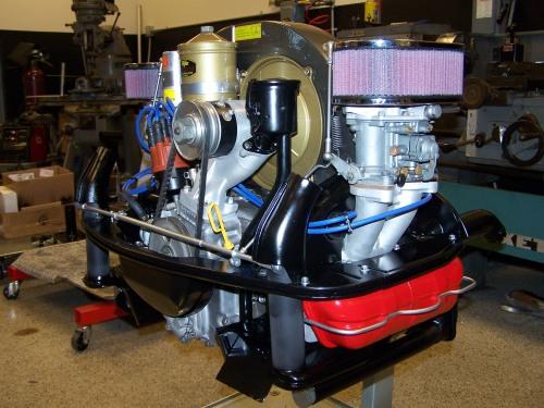 1963 Porsche 356 engine