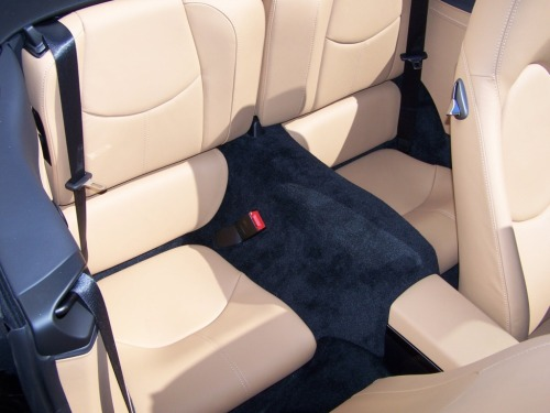2011 Porsche Carrera S Cab, Porsche Black and Sand Beige interior