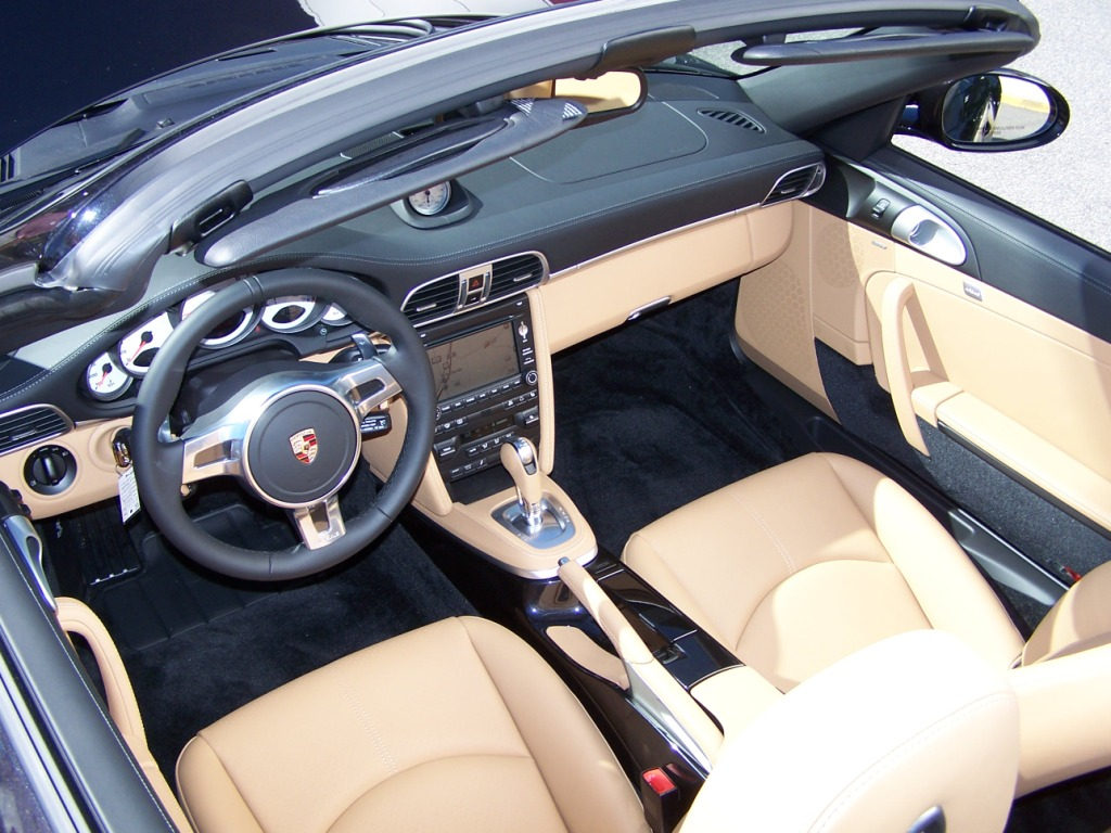 porsche black and sand beige two tone interior porschebahn weblog