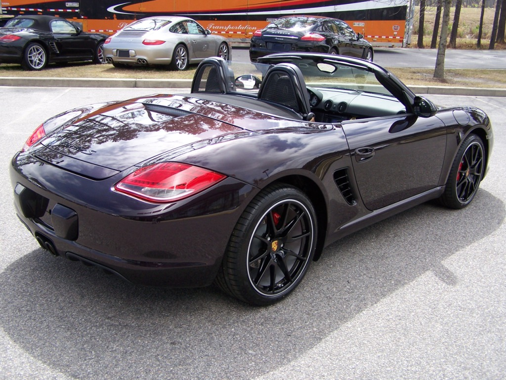 2011 porsche boxster s in amethyst with black interior. Black Bedroom Furniture Sets. Home Design Ideas